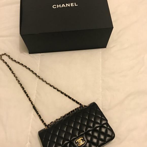 CHANEL Bags   Classic Small Double Flap Bag In Lambskin   Poshmark d19e2ac531
